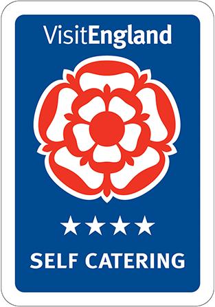 4 Stars Visit England badge